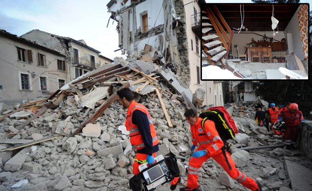 Powerful magnitude 6.2 earthquake strikes Italy, devastating towns and cities