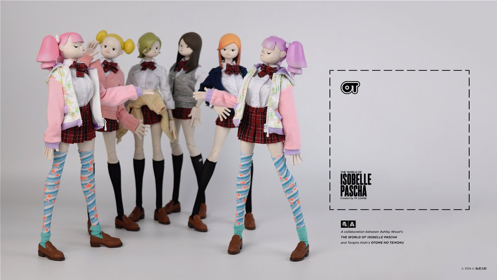 "NEW POST: Ashley Wood & Torajiro Kishi's ""Isobelle Pascha × Otome No Teikoku"" Line from 3A! https://t.co/PGozKMmS6M https://t.co/T7Tay14rnZ"