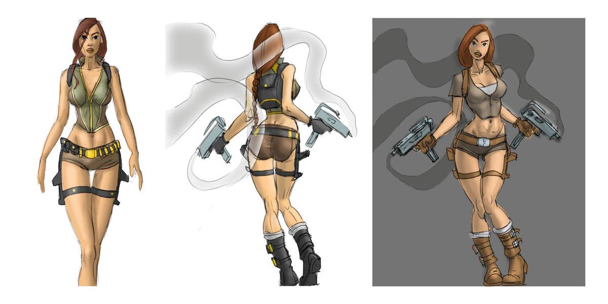 Lara Croft On Twitter Tomb Raider Legend Outfit Explorations