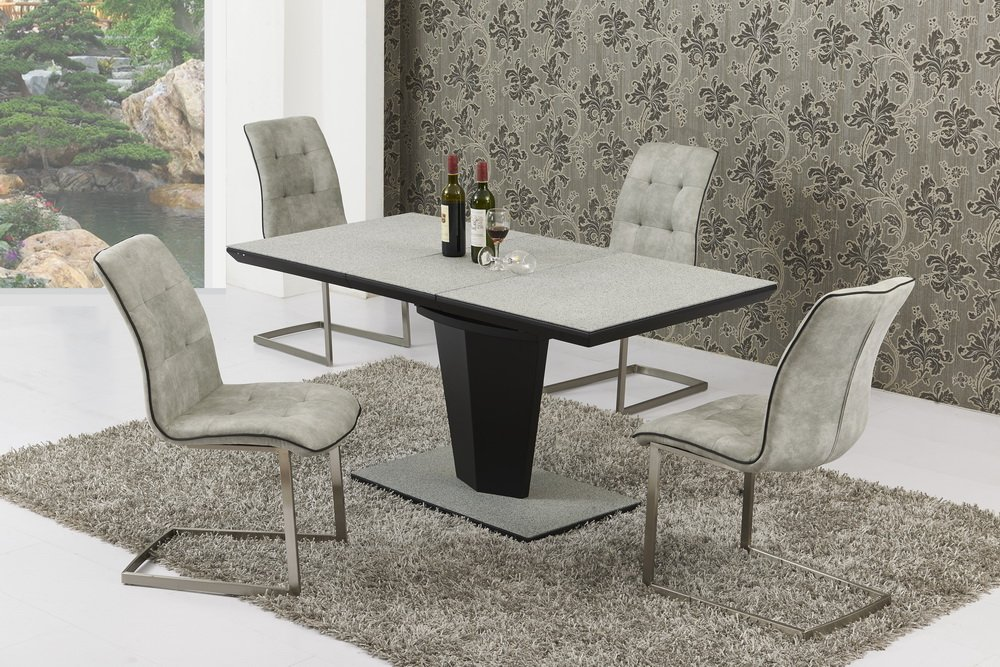 Suede Dining Room Chairs Modelismo Hld Com