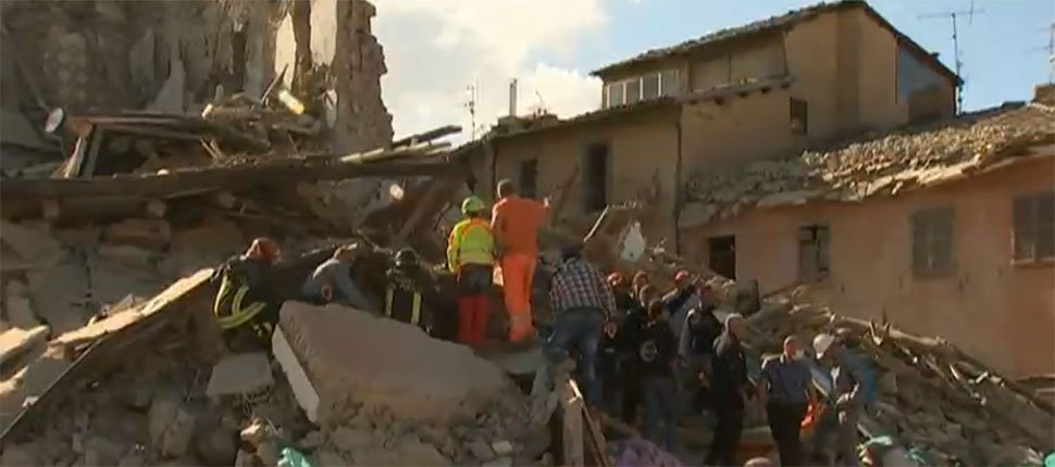 UPDATE: At least 37 killed in Italy earthquake WTHRSunrise