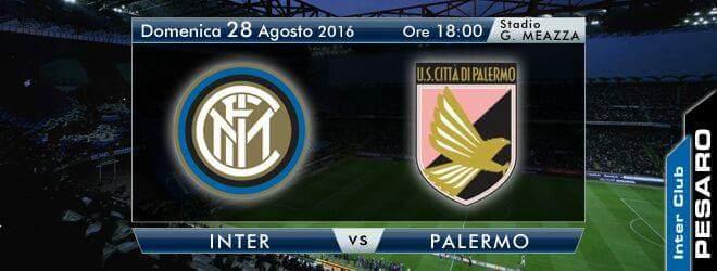 Inter-Palermo: orario Streaming TV e Diretta Mediaset Sky Serie A, tutte le info su come vederla