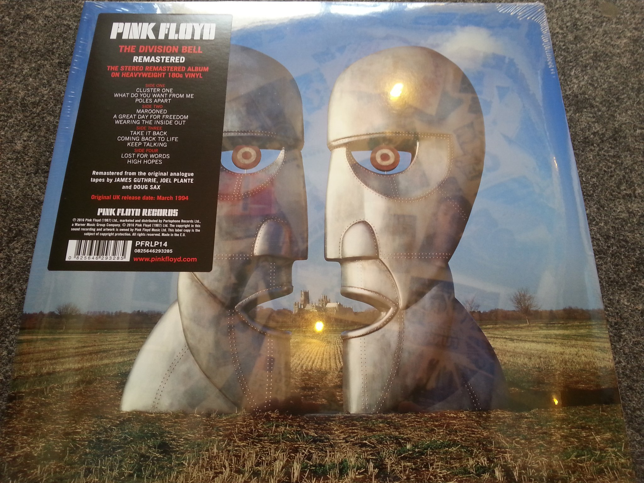 101 Collectors Records On Twitter Pink Floyd S The Division Bell