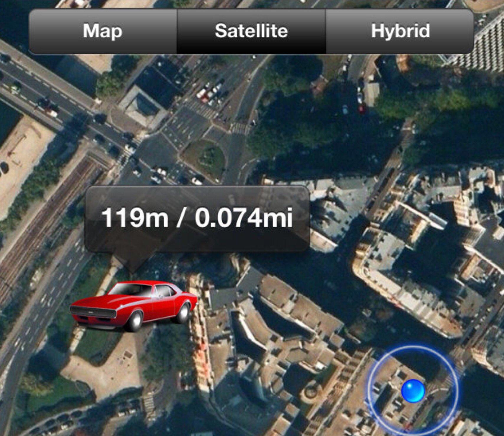App per ritrovare auto