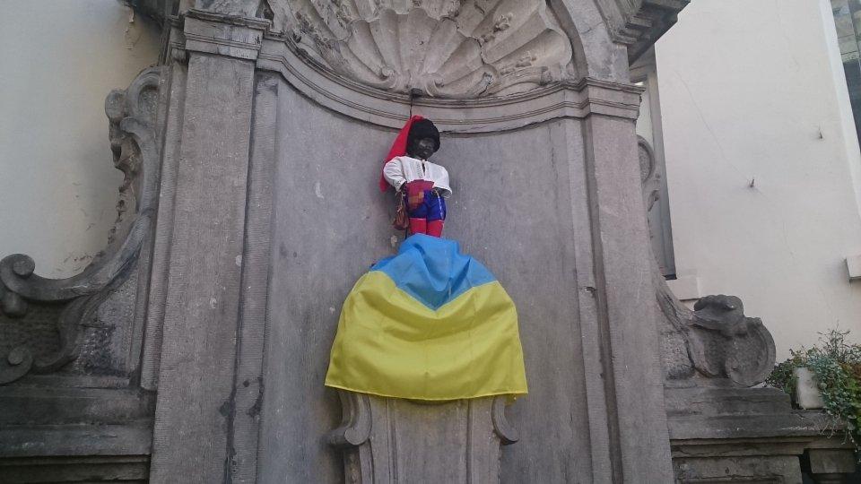 Ukrajinský Manneken Pis