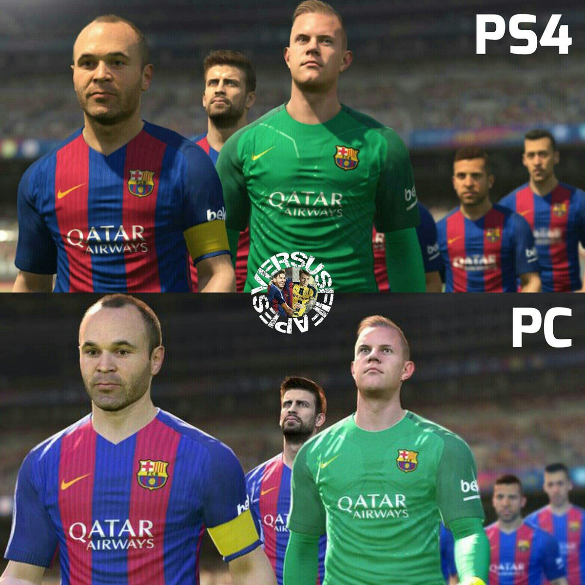 eFootball PES 2020 VS FIFA 20 on Twitter: