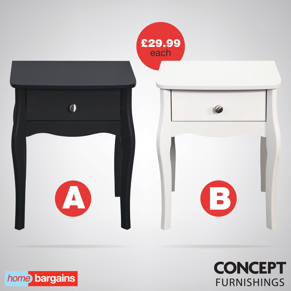 Home bargains bathroom cabinets - Home Bargains On Twitter Vote Now A Or B Simple Yet Stylish