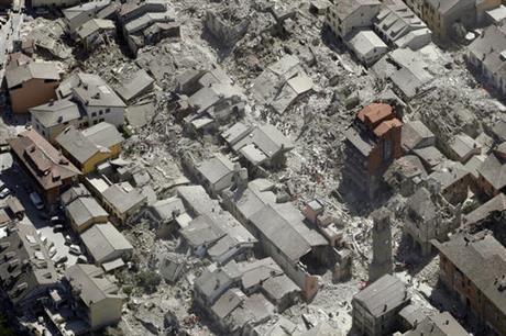 ItalyEarthquake kills dozens, reduces towns to rubble