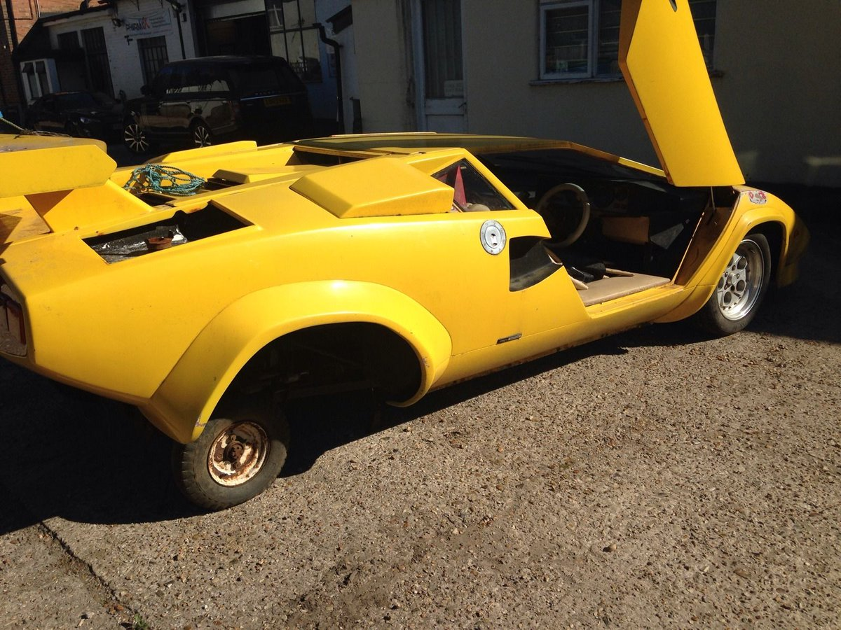 project cars uk on twitter prova lamborghini countach. Black Bedroom Furniture Sets. Home Design Ideas