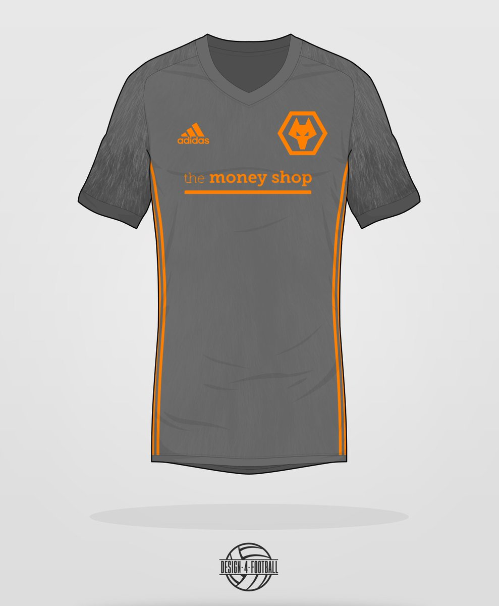 Wolverhampton Wanderers  adidas third shirt concept -  Wolves pic.twitter.com 03hy2AXigR 254229a67