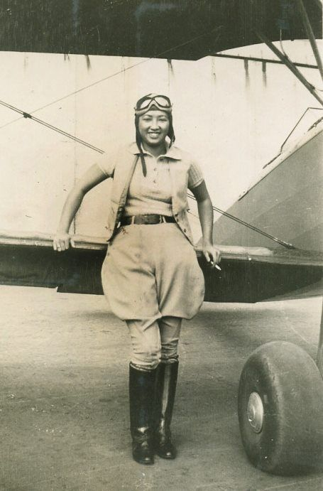 #OTD in 1912 #HazelYingLee was born. In 1943 she became the first Chinese American woman to fly for the military. https://t.co/TtoJAFVNnV