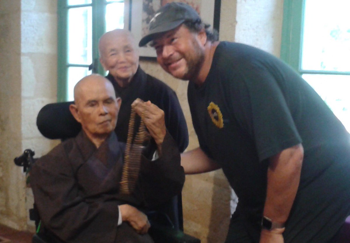 Marc Benioff On Twitter Wonderful To Be With Zen Master