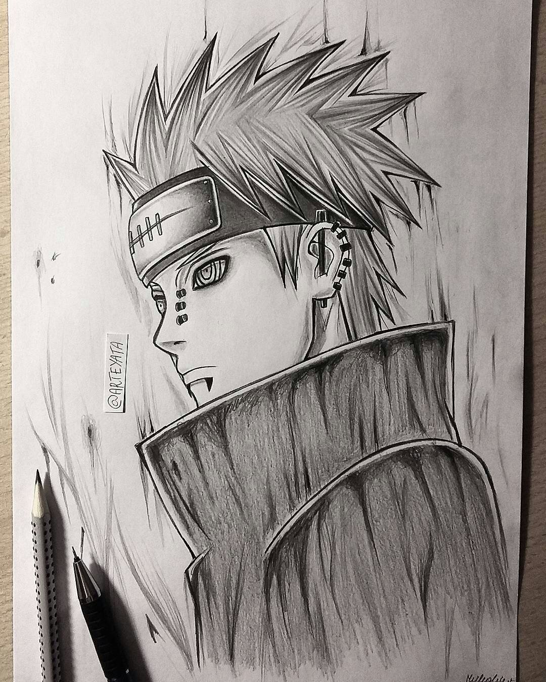 """60 Best Naruto Drawings Images On Pinterest: Arteyata On Twitter: """"Pain Is Finished Boys 😙 #anime"""