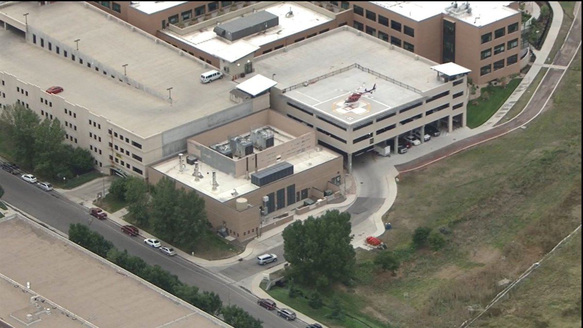 The Boulder suspect just arrived at the hospital for treatment of his injuries. All major roads are back open.