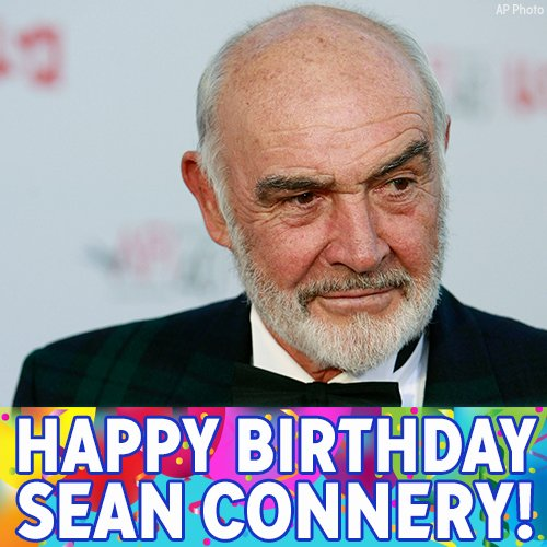 Happy Birthday Sean Connery! The James Bond star turns 85 today.