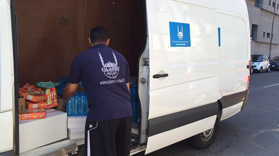 Following #earthquake in #Italy we are distributing emergency supplies of food, hygiene kits & nappies https://t.co/nHo2hmwHwC