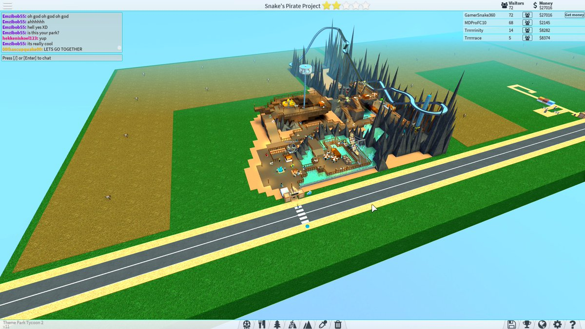 How to use booster on roblox theme park tycoon 2