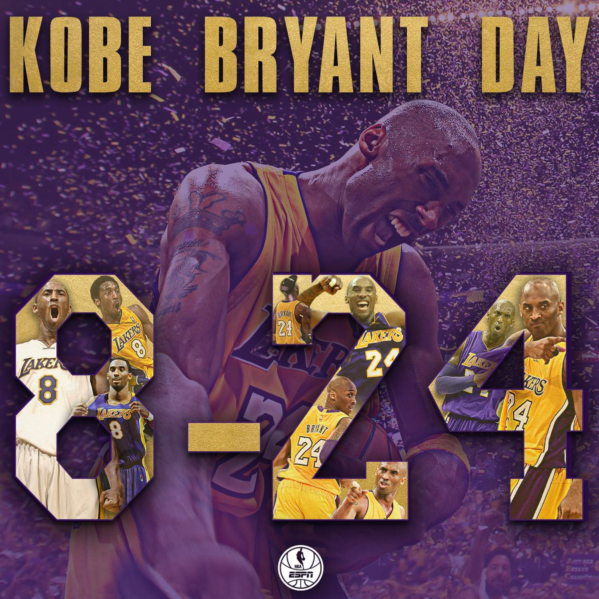 5 titles. 33,643 career points. 1,346 games. 20 years. 1 Mamba. https://t.co/AxoXkh63eQ