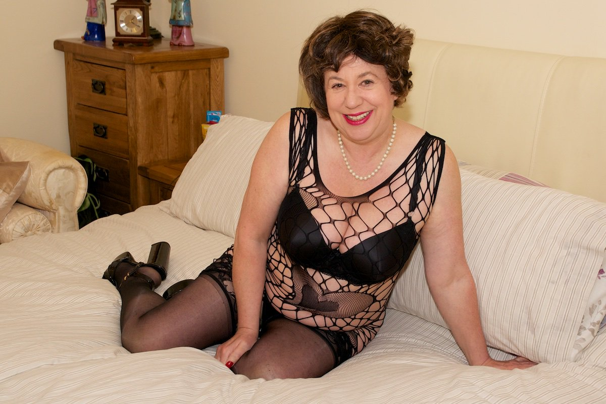 aunty stockings Hot in