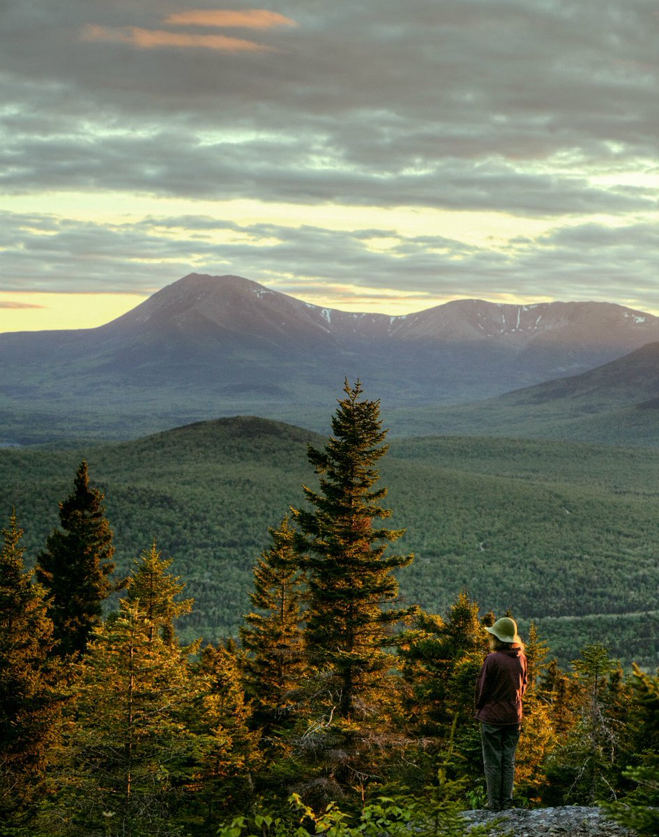 Our nation's newest national monument: The stunning Katahdin Woods & Waters in #Maine #findyourpark 📸:Bill Duffy