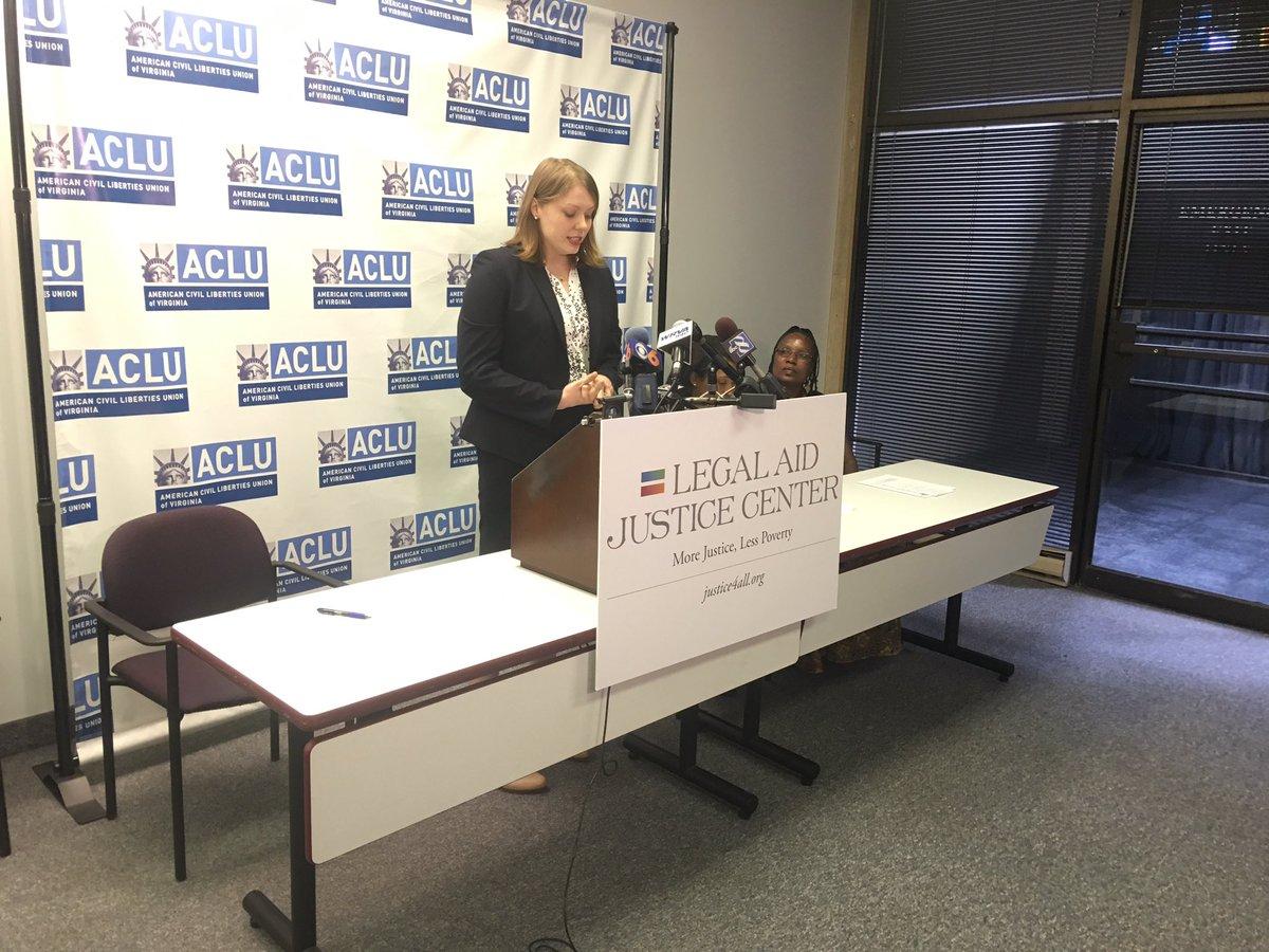 .@ACLU, @LegalAidJustice file complaint w/ Edu. Dept. alleging racial & disability discrimination at RVA schools.