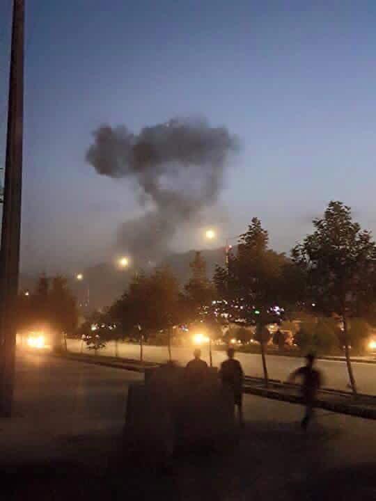 Террористы штурмуют Американский университет в Кабуле