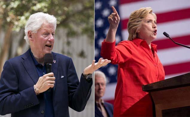 @BillClinton got $17.6M from university while Hillary vowed a