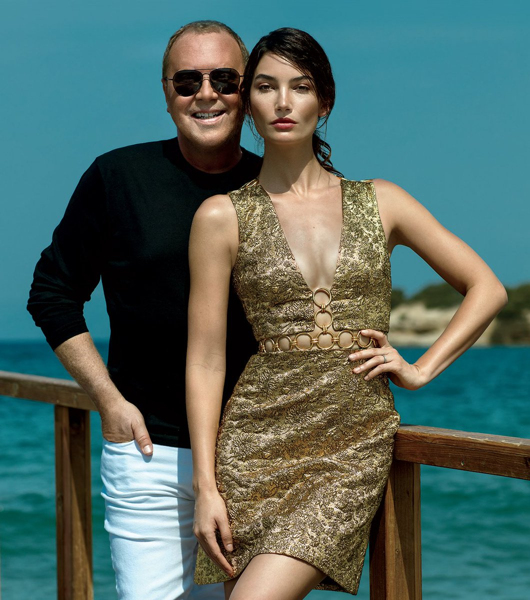 After 35 yrs, @MichaelKors toasts brand w/a new fragrance & campaign starring @LilyAldridge: https://t.co/ZjxaoSUlGe https://t.co/3JZHnFnDCm