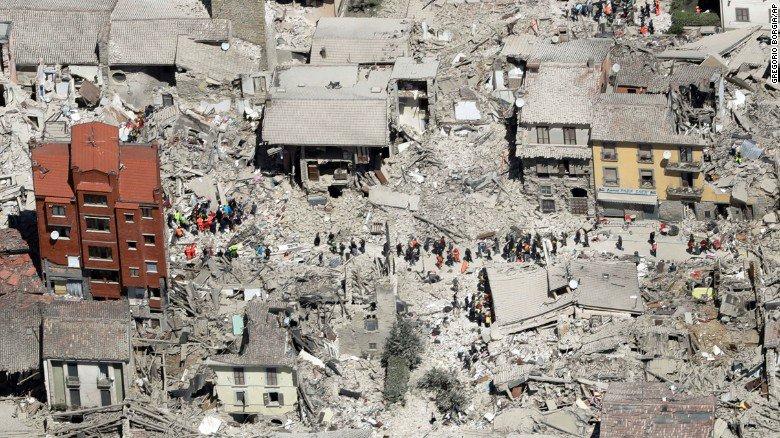 Terremoto Centro Italia, oltre 2400 le repliche dopo il 24 agosto