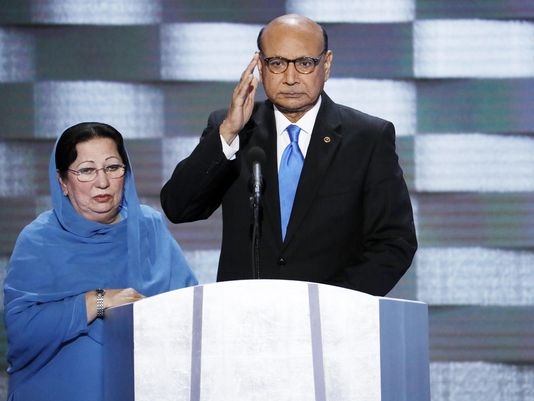 Muslim couple that sparred with @realDonaldTrump to be honored at local gala