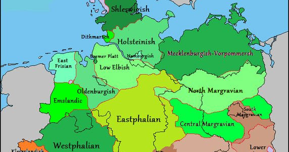 Vivid Maps on Twitter German Dialects in Germany Belgium France