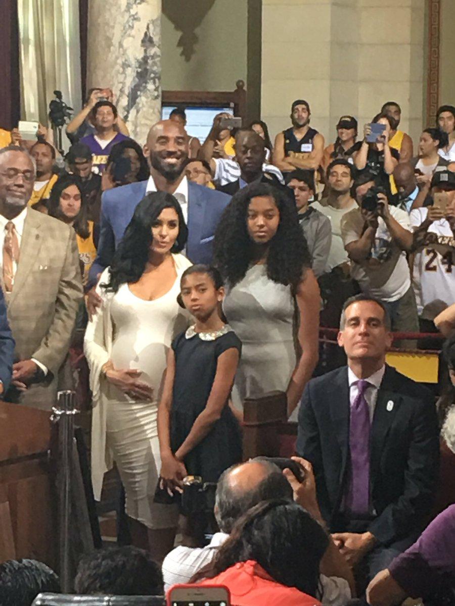 Kobe Bryant Kobe Bryant Day Kobe Bryant Family Kobe Bryant