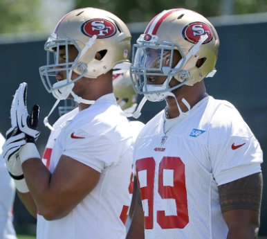 49ers notes: Armstead, Buckner may not join forces until Week 1.