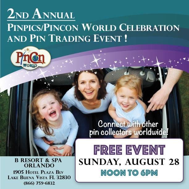 PinPics/PinCon Pin Trading Event