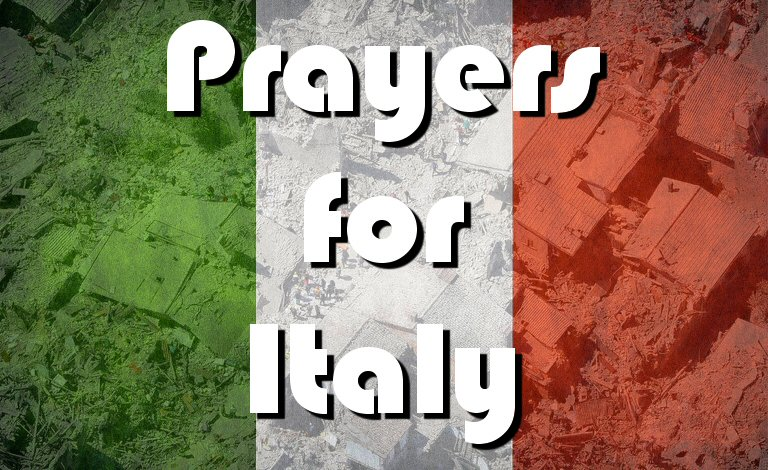 Our thoughts and prayers are with the families of the 120+ dead from last nights devastating #ItalyEarthquake. https://t.co/U9LNc0FnAW