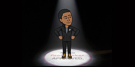 bitmoji foot locker