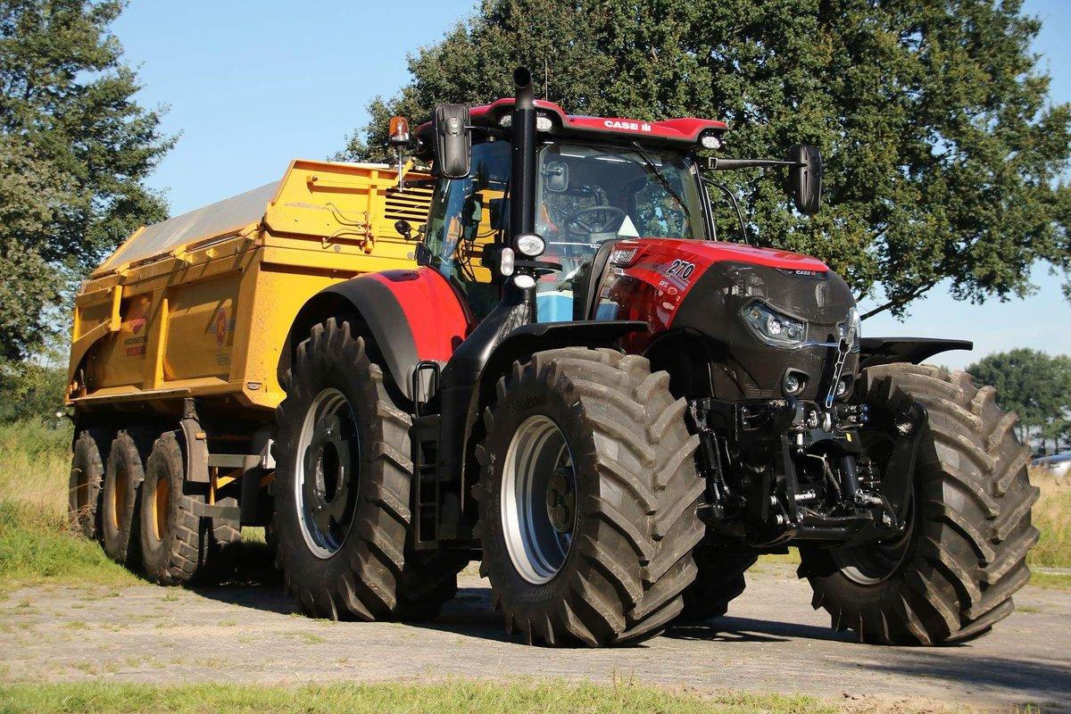 """Landbouwpowers on Twitter: """"Nieuwe Case IH Optum CVX 270 ... Hoornstra Nieuw Buinen"""