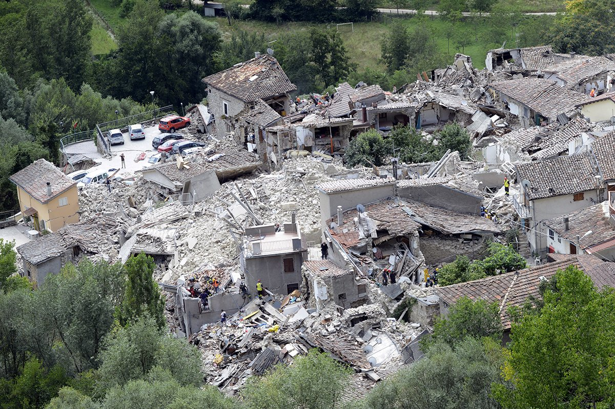The latest on Italyearthquake: John Kerry offers condolences