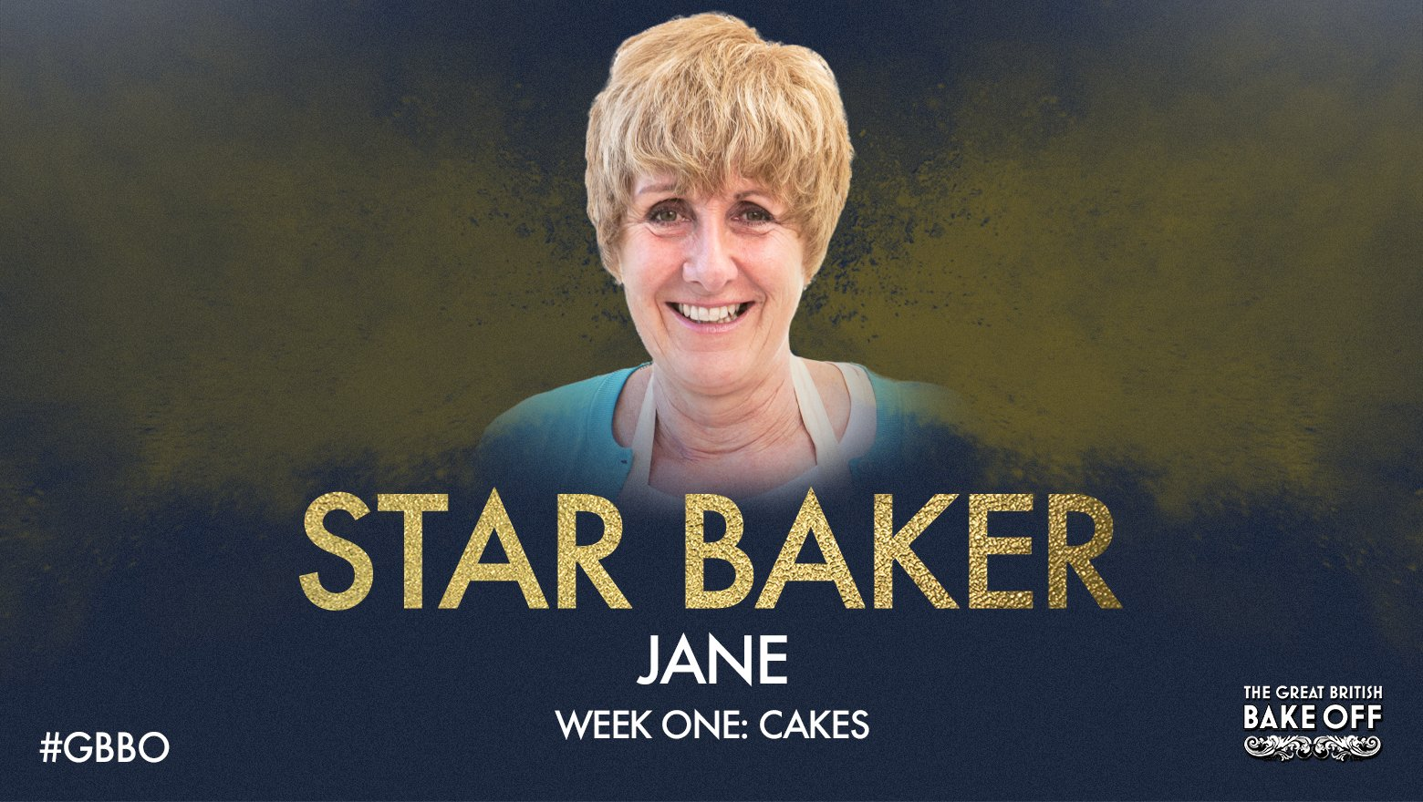 RT @BritishBakeOff: Congratulations to Jane - Cake Week's Star Baker! #GBBO https://t.co/gRSo8y7Cps