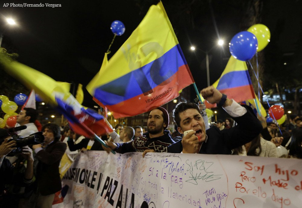 Colombia and rebels reach a deal to end longest war in the Americas.
