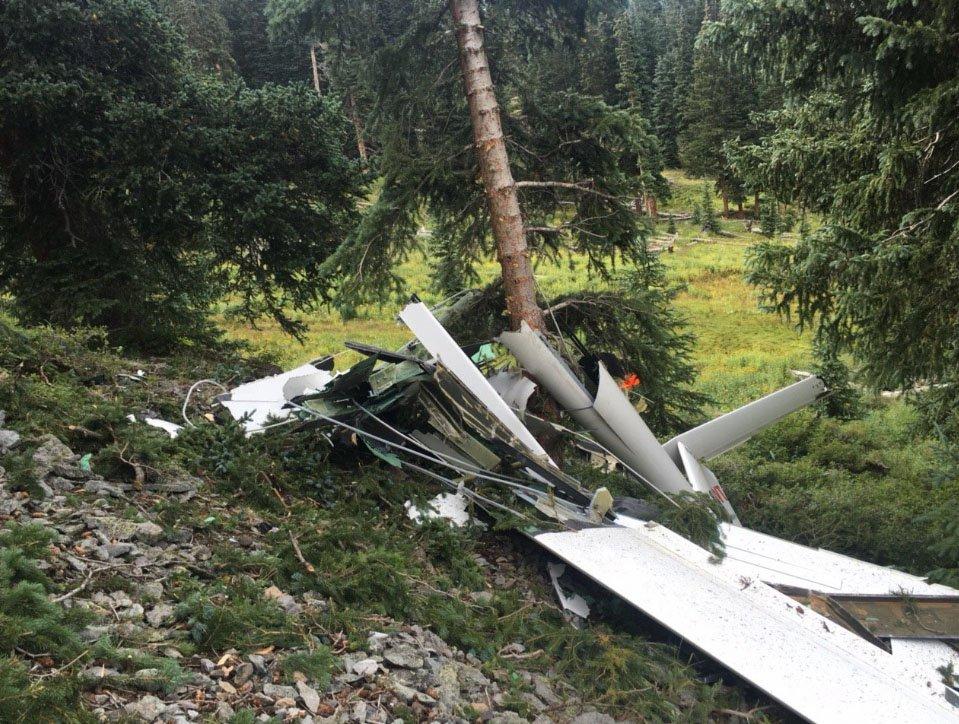 """Telluride plane crash leaves two dead, including local pilot """"Glider Bob"""""""