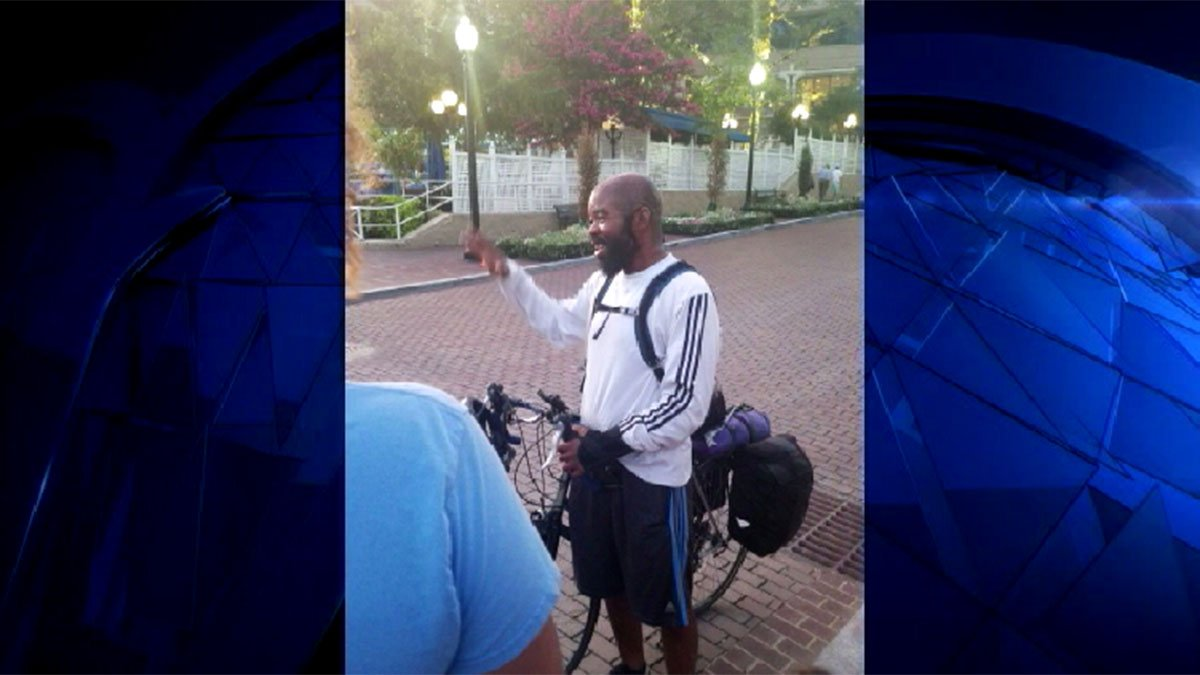 Local man rides 3,200 miles on his bike in memory of son who took his own life