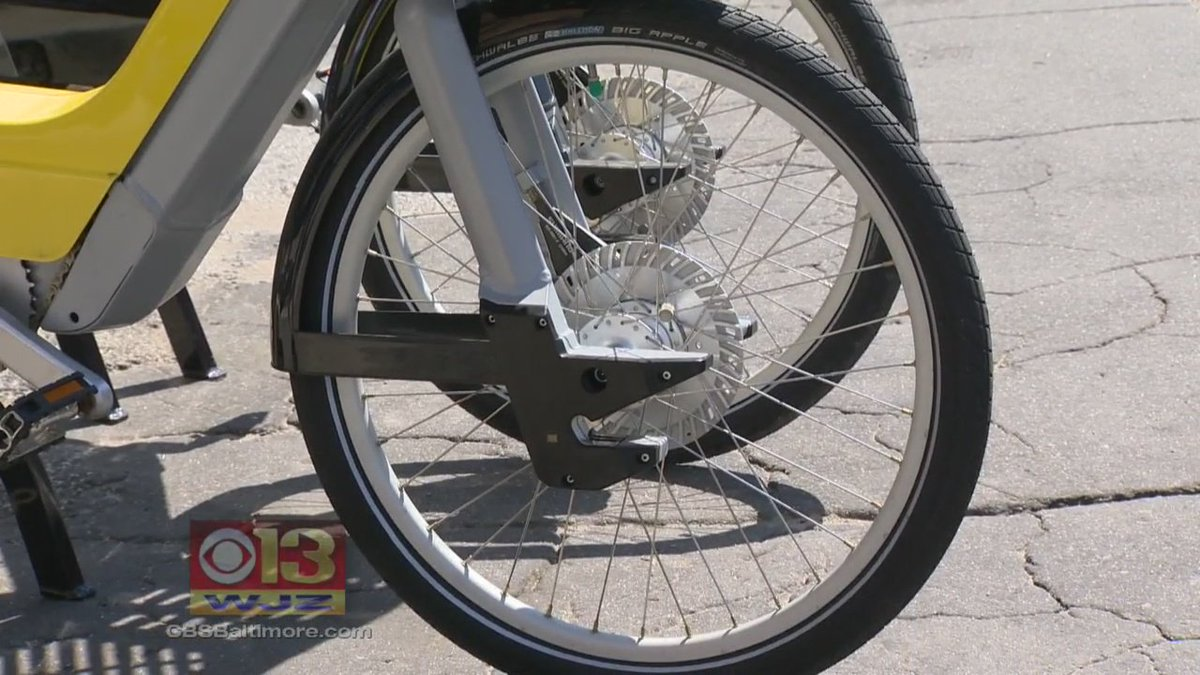 Want to bike around Baltimore, but don't own a bike? Soon you'll be able to rent one.