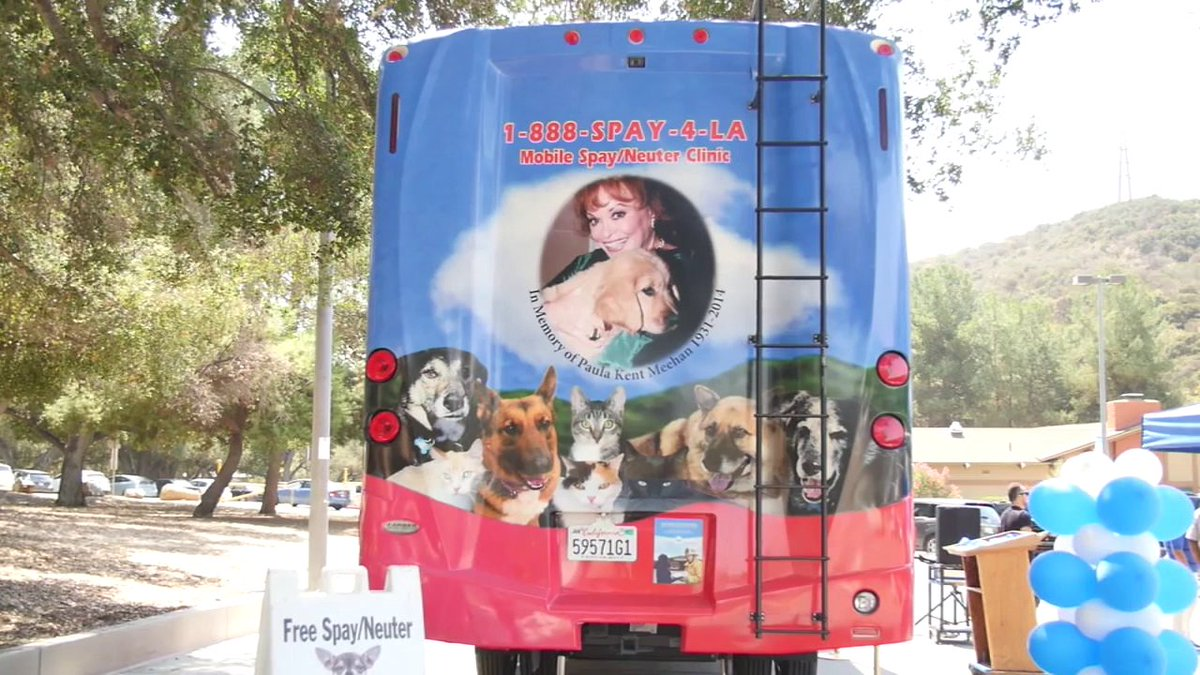 LA County has unveiled its first spay-neuter mobile clinic, which also provides low-cost vaccinations and microchips