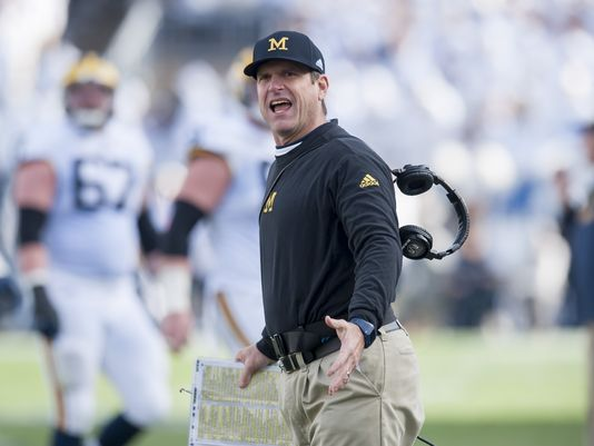 Harbaugh: No intention of leaving Wolverines