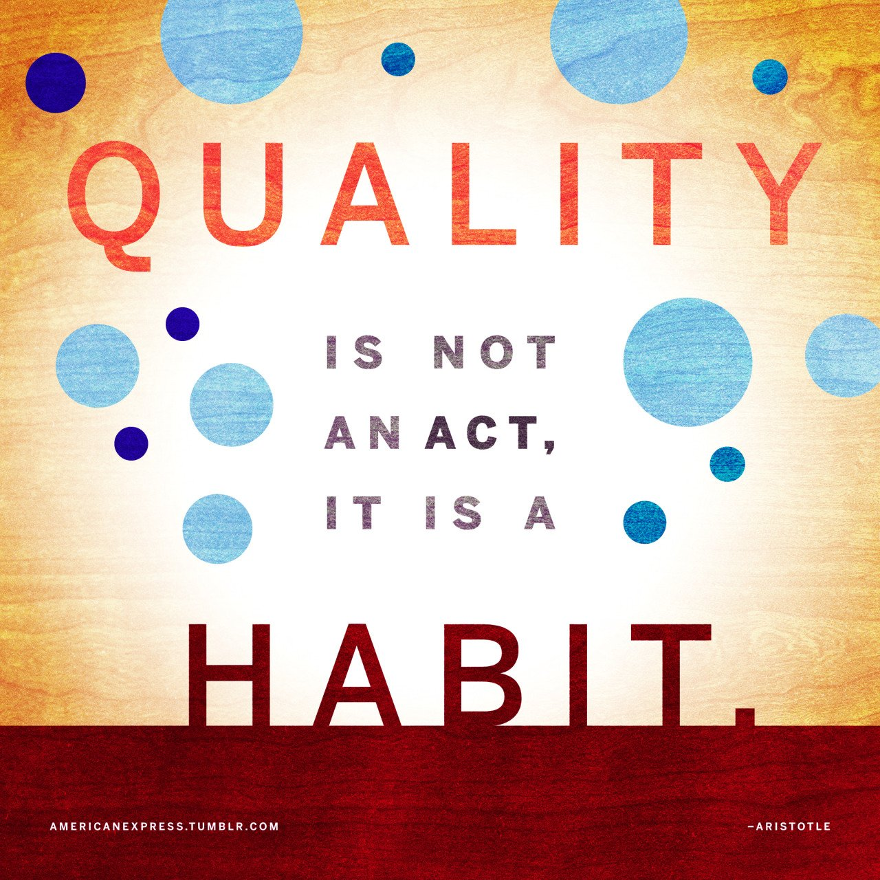 """Quality is not an act, it is a habit"" - Aristotle #ClientWork  https://t.co/6Tqx6pN84S https://t.co/ywz2NjulPF"