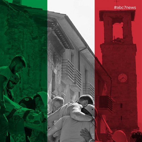 Our hearts go out to all those affected by the ItalyEarthquake. ItalyQuake Amatrice