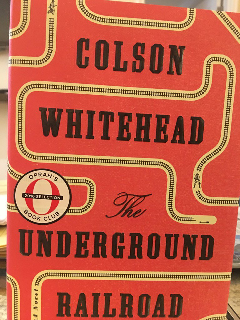 Thank you Book lovers for making this #1 on the NYT Bestsellers list. Congrats 👏🏾👏🏾@colsonwhitehead #OprahsBookClub https://t.co/zlqZ78M1PJ