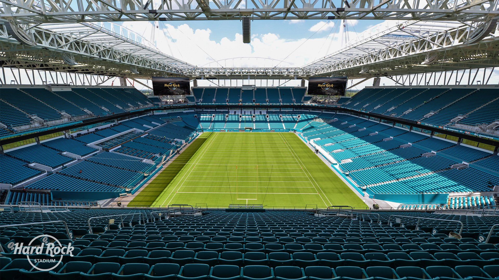 Hard Rock Stadium On Twitter View From The Endzone