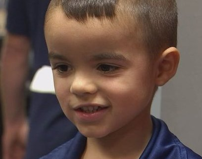 Local boy buys police department lunch with allowance money